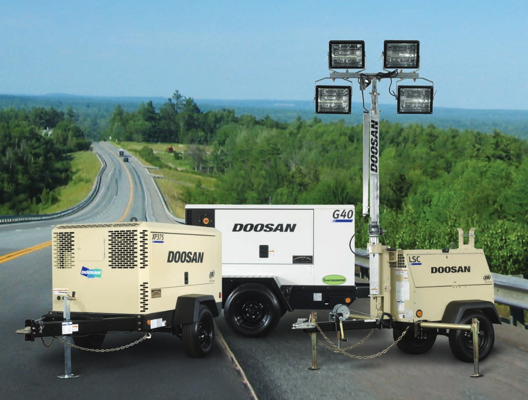 Doosan Portable Power Family photo