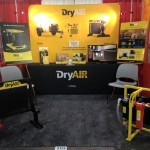 DryAir show booth at the 2016 Rental Show in Atlanta