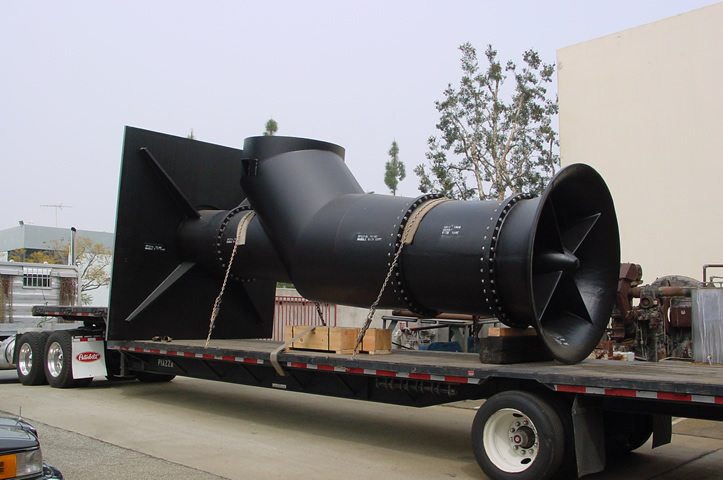 Cascade Pump and Impeller on Truck
